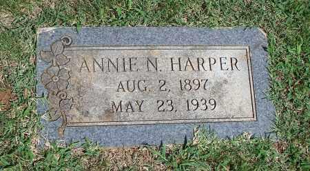 HARPER, ANNIE N. - Washington County, Arkansas | ANNIE N. HARPER - Arkansas Gravestone Photos