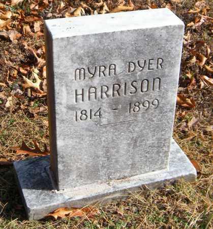 HARRISON, MYRA DYER - Washington County, Arkansas | MYRA DYER HARRISON - Arkansas Gravestone Photos