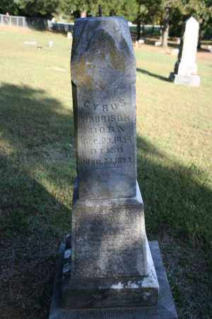 HARRISON, CYRUS - Washington County, Arkansas   CYRUS HARRISON - Arkansas Gravestone Photos