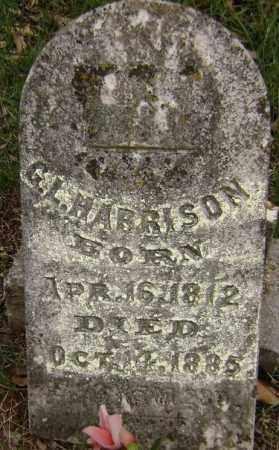 HARRISON, G. L. - Washington County, Arkansas   G. L. HARRISON - Arkansas Gravestone Photos