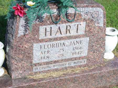 HART, FLORIDA JANE - Washington County, Arkansas | FLORIDA JANE HART - Arkansas Gravestone Photos