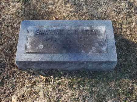 HARTLEY, SAVANNAH C. - Washington County, Arkansas | SAVANNAH C. HARTLEY - Arkansas Gravestone Photos