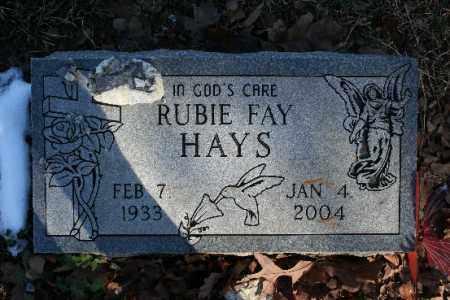 LEWIS HAYS, RUBIE FAY - Washington County, Arkansas | RUBIE FAY LEWIS HAYS - Arkansas Gravestone Photos