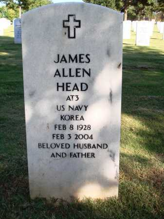 HEAD  (VETERAN KOR), JAMES ALLEN - Washington County, Arkansas | JAMES ALLEN HEAD  (VETERAN KOR) - Arkansas Gravestone Photos