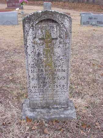 HEARN, ELIZABETH ANN - Washington County, Arkansas   ELIZABETH ANN HEARN - Arkansas Gravestone Photos
