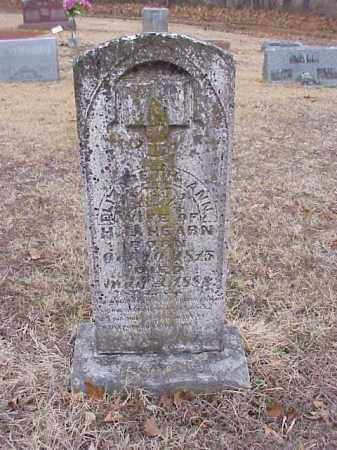 HEARN, ELIZABETH ANN - Washington County, Arkansas | ELIZABETH ANN HEARN - Arkansas Gravestone Photos