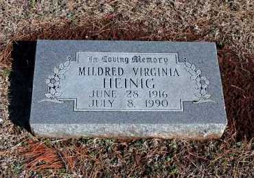 HEINIG, MILDRED VIRGINIA - Washington County, Arkansas | MILDRED VIRGINIA HEINIG - Arkansas Gravestone Photos