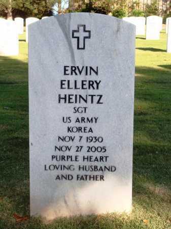 HEINTZ  (VETERAN KOR), ERVIN ELLERY - Washington County, Arkansas | ERVIN ELLERY HEINTZ  (VETERAN KOR) - Arkansas Gravestone Photos