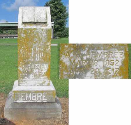 HEMBREE, A. J. - Washington County, Arkansas | A. J. HEMBREE - Arkansas Gravestone Photos