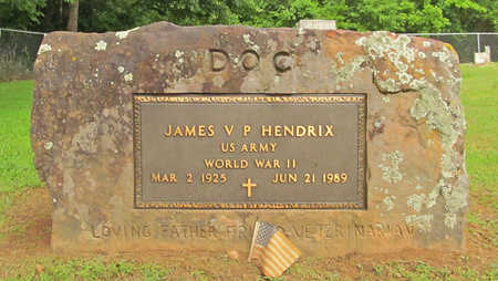 HENDRIX (VETERAN WWII), JAMES V P - Washington County, Arkansas | JAMES V P HENDRIX (VETERAN WWII) - Arkansas Gravestone Photos