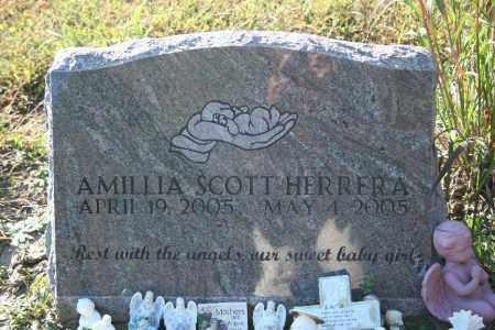HERRERA, AMILLIA - Washington County, Arkansas | AMILLIA HERRERA - Arkansas Gravestone Photos
