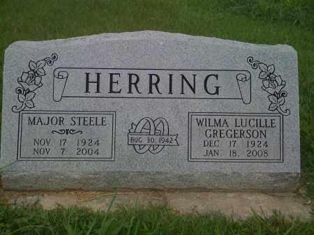 HERRING, MAJOR STEELE - Washington County, Arkansas | MAJOR STEELE HERRING - Arkansas Gravestone Photos