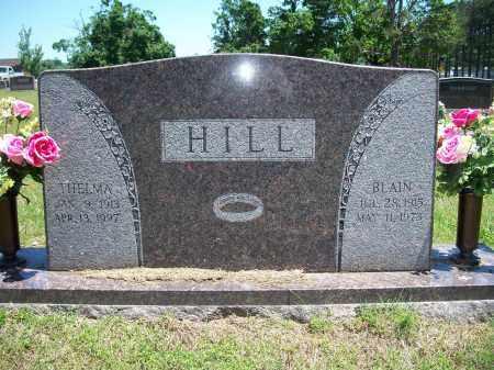 HILL, THELMA - Washington County, Arkansas | THELMA HILL - Arkansas Gravestone Photos