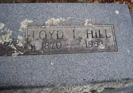 HILL, LOYD L. - Washington County, Arkansas   LOYD L. HILL - Arkansas Gravestone Photos