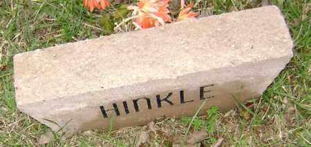 HINKLE, UNKNOWN - Washington County, Arkansas   UNKNOWN HINKLE - Arkansas Gravestone Photos