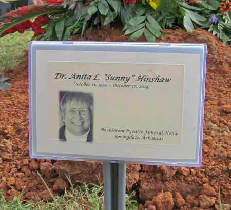 "HINSHAW, ANITA L ""SONNY"" - Washington County, Arkansas   ANITA L ""SONNY"" HINSHAW - Arkansas Gravestone Photos"