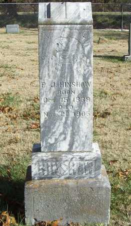 HINSHAW (VETERAN CSA), P J - Washington County, Arkansas | P J HINSHAW (VETERAN CSA) - Arkansas Gravestone Photos