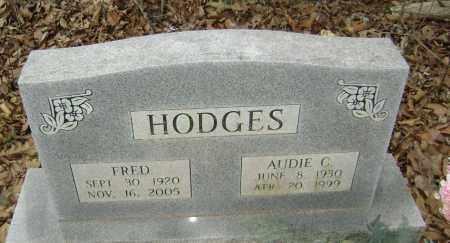 HODGES, AUDIE C. - Washington County, Arkansas   AUDIE C. HODGES - Arkansas Gravestone Photos