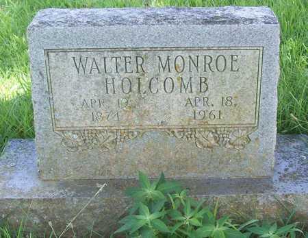 HOLCOMB, WALTER MONROE - Washington County, Arkansas | WALTER MONROE HOLCOMB - Arkansas Gravestone Photos