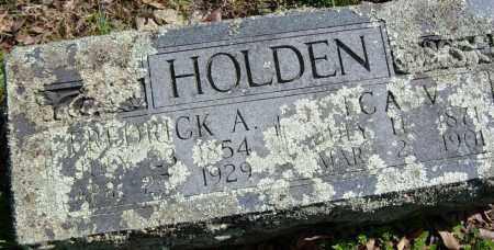 HOLDEN, FREDRICK A. - Washington County, Arkansas   FREDRICK A. HOLDEN - Arkansas Gravestone Photos