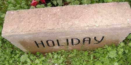 HOLIDAY, UNKNOWN - Washington County, Arkansas   UNKNOWN HOLIDAY - Arkansas Gravestone Photos