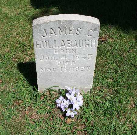 HOLLABAUGH, JAMES C. - Washington County, Arkansas   JAMES C. HOLLABAUGH - Arkansas Gravestone Photos