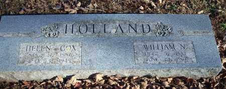 HOLLAND, WILLIAM N. - Washington County, Arkansas | WILLIAM N. HOLLAND - Arkansas Gravestone Photos