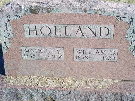 HOLLAND, WILLIAM D. - Washington County, Arkansas | WILLIAM D. HOLLAND - Arkansas Gravestone Photos