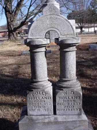 HOLLAND, POLLY - Washington County, Arkansas | POLLY HOLLAND - Arkansas Gravestone Photos