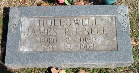 HOLLOWELL, JAMES RUSSELL - Washington County, Arkansas | JAMES RUSSELL HOLLOWELL - Arkansas Gravestone Photos