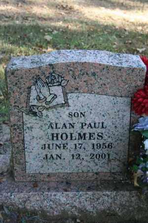 HOLMES, ALAN PAUL - Washington County, Arkansas | ALAN PAUL HOLMES - Arkansas Gravestone Photos