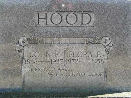 HOOD, FLORA - Washington County, Arkansas | FLORA HOOD - Arkansas Gravestone Photos