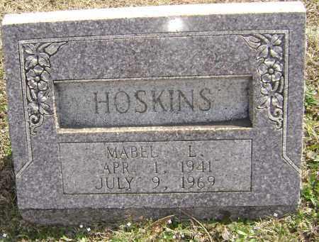 HOSKINS, MABEL L. - Washington County, Arkansas | MABEL L. HOSKINS - Arkansas Gravestone Photos