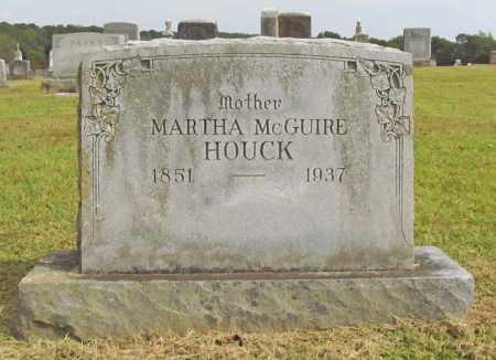 BLACKBURN HOUCK, MARTHA E. - Washington County, Arkansas | MARTHA E. BLACKBURN HOUCK - Arkansas Gravestone Photos