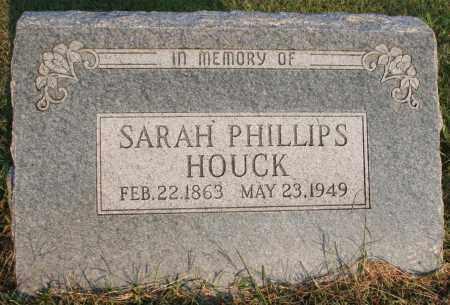 HOUCK, SARAH - Washington County, Arkansas | SARAH HOUCK - Arkansas Gravestone Photos