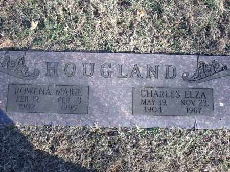 HOUGLAND, CHARLES ELZA - Washington County, Arkansas | CHARLES ELZA HOUGLAND - Arkansas Gravestone Photos