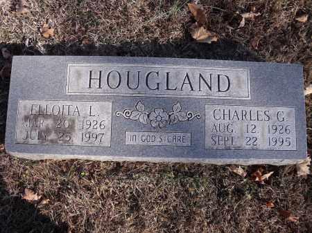 "HOUGLAND, CHARLES G. ""CHUCK"" - Washington County, Arkansas | CHARLES G. ""CHUCK"" HOUGLAND - Arkansas Gravestone Photos"
