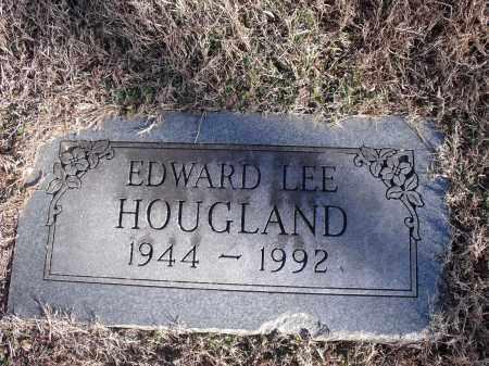 HOUGLAND, EDWARD LEE - Washington County, Arkansas | EDWARD LEE HOUGLAND - Arkansas Gravestone Photos