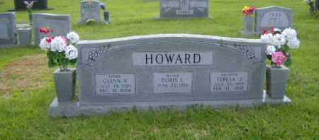 HOWARD, GLENN V. - Washington County, Arkansas   GLENN V. HOWARD - Arkansas Gravestone Photos