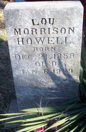 MORRISON HOWELL, LOU - Washington County, Arkansas | LOU MORRISON HOWELL - Arkansas Gravestone Photos