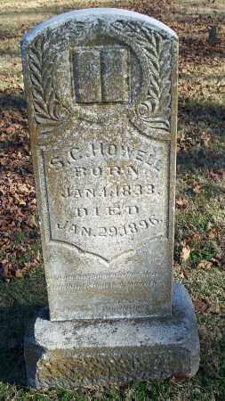 HOWELL, S. C. - Washington County, Arkansas | S. C. HOWELL - Arkansas Gravestone Photos