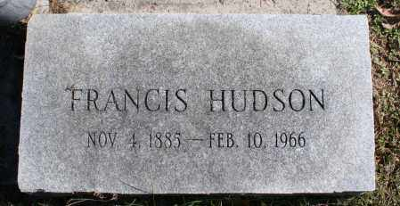 HUDSON, MELINDA FRANCIS - Washington County, Arkansas | MELINDA FRANCIS HUDSON - Arkansas Gravestone Photos
