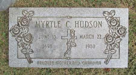 HUDSON, MYRTLE - Washington County, Arkansas | MYRTLE HUDSON - Arkansas Gravestone Photos
