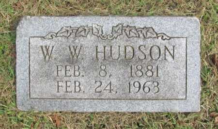 "HUDSON, WILLIAM WILSON ""WILKS"" - Washington County, Arkansas | WILLIAM WILSON ""WILKS"" HUDSON - Arkansas Gravestone Photos"