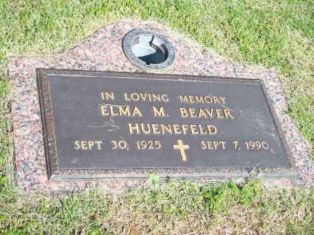 BEAVER HUENEFELD, ELMA M. - Washington County, Arkansas   ELMA M. BEAVER HUENEFELD - Arkansas Gravestone Photos