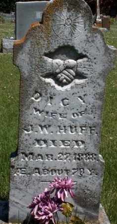 HUFF, DICY JANE - Washington County, Arkansas | DICY JANE HUFF - Arkansas Gravestone Photos