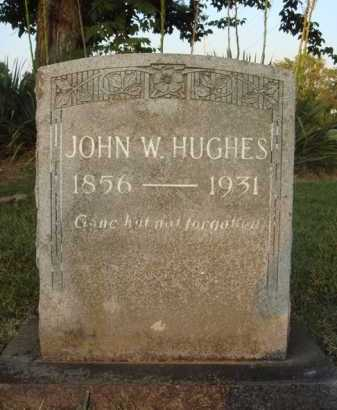 HUGHES, JOHN W. - Washington County, Arkansas | JOHN W. HUGHES - Arkansas Gravestone Photos