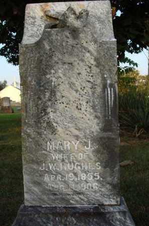 HUGHES, MARY J. - Washington County, Arkansas | MARY J. HUGHES - Arkansas Gravestone Photos