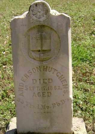 HUTCHENS, ANDERSON - Washington County, Arkansas | ANDERSON HUTCHENS - Arkansas Gravestone Photos