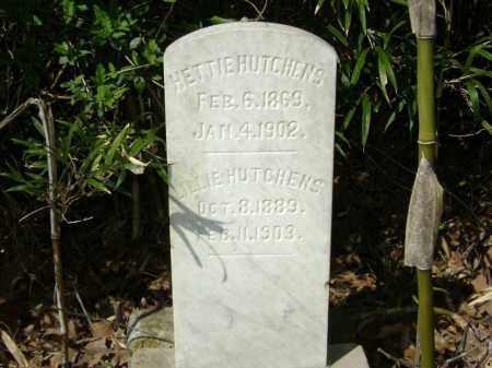 HUTCHENS, HETTIE - Washington County, Arkansas | HETTIE HUTCHENS - Arkansas Gravestone Photos